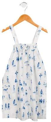Nice Things Girls' Sleeveless Printed Dress w/ Tags
