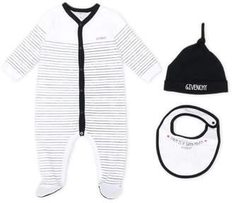 Givenchy Kids stripe print pajamas