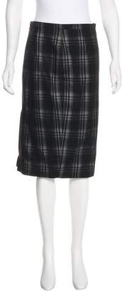 DSQUARED2 Plaid Knee-Length Skirt