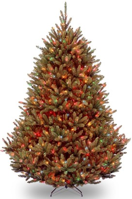 National Christmas Tree Company National Tree Co. 6.5 ft. Natural Fraser Medium Fir Artificial Christmas Tree with Multicolor Lights