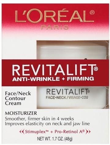 L'Oreal Revitalift Anti-Wrinkle + Firming Face/Neck Contour Cream - 1.7 oz