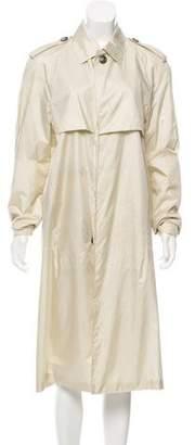 Balenciaga Silk Trench Coat