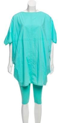 Max Mara Short Sleeve Pant Set