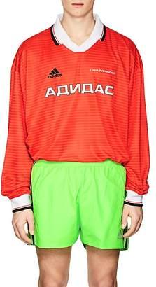 Gosha Rubchinskiy X adidas Men's Logo Striped Jersey