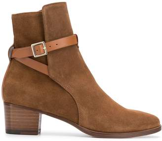 L'Autre Chose wrap strap boots