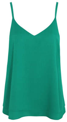 George Green Strappy Double Layer Camisole Top