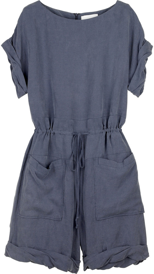 3.1 Phillip Lim Linen playsuit