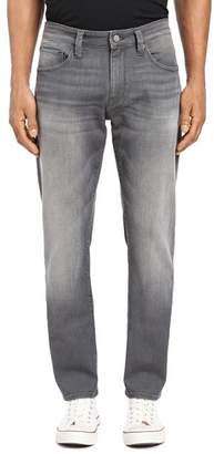 Mavi Jeans Marcus Straight Slim Fit Jeans in Light Gray Brooklyn