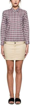 DSQUARED2 White/red/beige Checked Cargo Dress