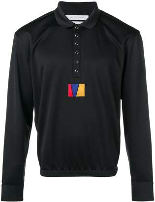 Reebok long sleeved polo shirt