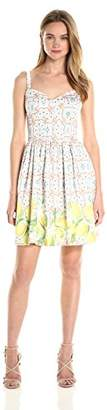 Amanda Uprichard Women's Champagne Dress