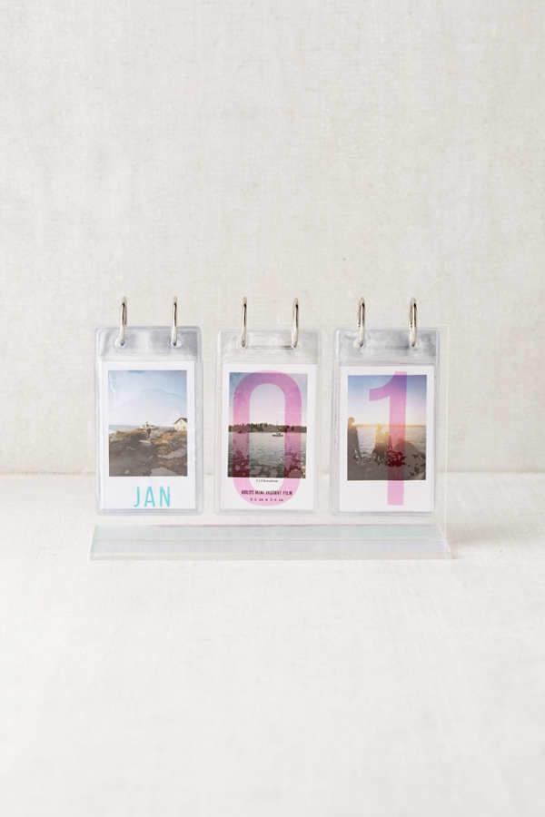 Instax Desktop Acrylic Photo Calendar