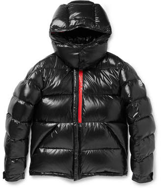 Moncler Marlioz Quilted Shell Down Jacket - Black