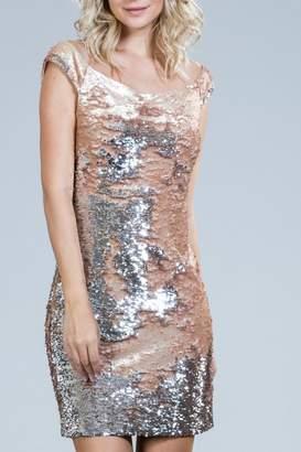 Ark & Co Blush Sequin Dress