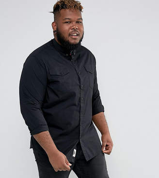 Duke King Size Shirt With Pockets In Black