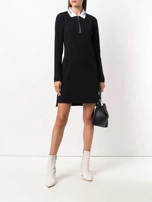 Alexander Wang Quarter zip polo dress