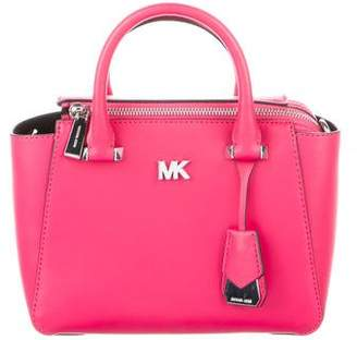 Michael Kors Mini Leather Satchel Bag
