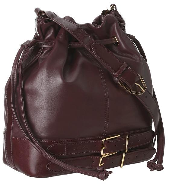 Rachel Zoe Kye Drawstring (Bordeaux) - Bags and Luggage