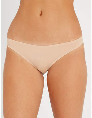 Stella McCartney Stella Smooth and Lace stretch-jersey and lace briefs