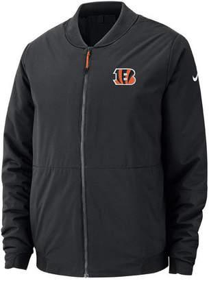 Nike Men Cincinnati Bengals Bomber Jacket