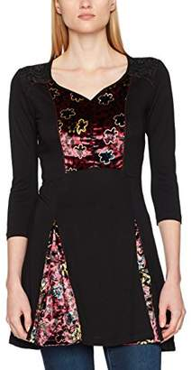 Joe Browns Women's Perfect Velvet Tunic Blouse, (Black A)