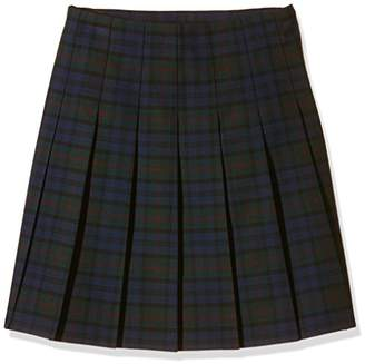 Trutex Girl's GST-JUB-L16-W28 Snr Tartan Kilt Checkered Skirt,(Manufacturer Size:28)