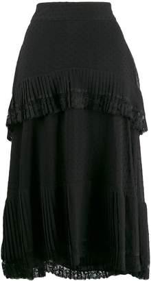 Zimmermann lace trim skirt