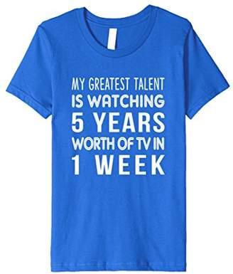TV Series Binge Watching Funny Shirt
