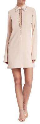 Victoria Beckham Victoria, Open Front Shift Dress