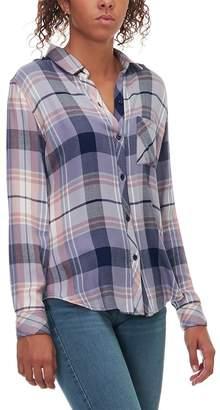 Rails Hunter Coast/Apricot/Cream Long-Sleeve Button Up - Women's