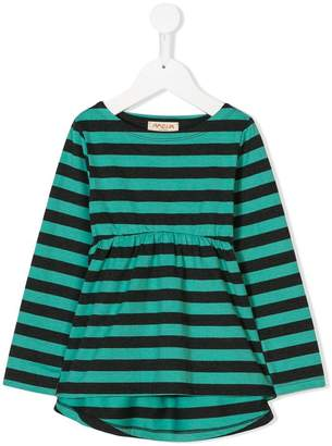 Amelia Milano striped empire waist knit top