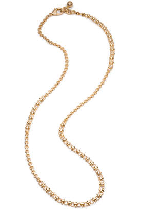 "Lulu Frost Gold 32"" Mini Link Necklace"