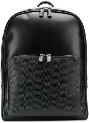 Canali chevron backpack