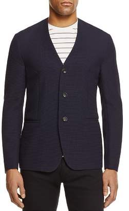 Armani Collezioni Textured Regular Fit Sport Coat