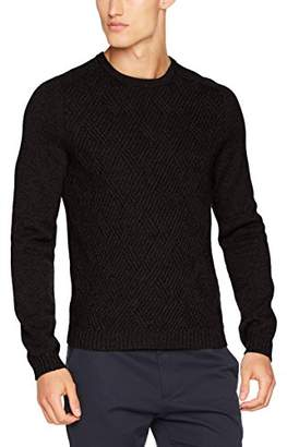 BOSS Men's Ruben 10201840 01 Cardigan,Large