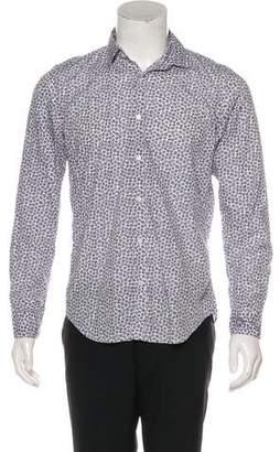 Hartford Printed Button-Up Shirt w/ Tags