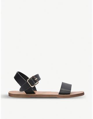 Miss KG Ruthie faux-leather two-part sandals