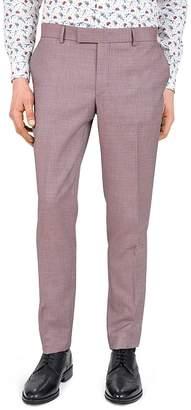 The Kooples Psychedelic Diamond Slim Fit Dress Pants