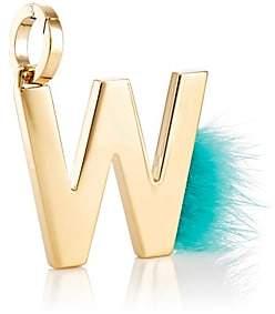 Fendi Women's ABClick W Bag Charm - Gold