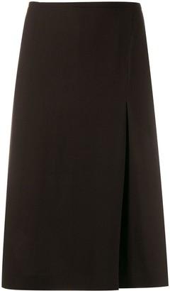 Salvatore Ferragamo Pre-Owned 1990's knee-length straight skirt