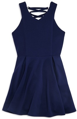 Sally Miller Girls' Harper Lace-Up Back Dress - Sizes S-XL $78 thestylecure.com