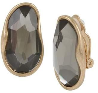 Robert Lee Morris Soho Stone Clip-on Earrings