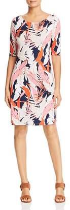 Tommy Bahama Lily Leaf-Print Dress