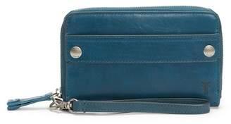 Frye Melissa Large Leather Phone Wallet