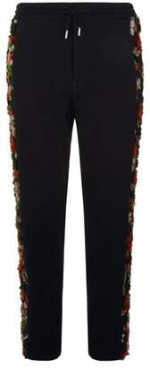 Alexander McQueen Frayed Detail Sweatpants