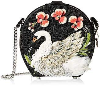 Mary Frances Grace Embellished Swan Crossbody Handbag