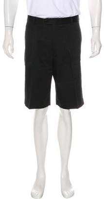 Burberry Golf Pleated Woven Shorts