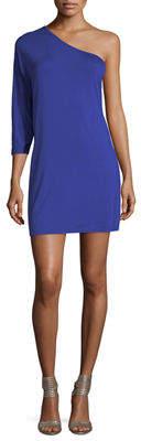 Trina Turk Carlin Asymmetric Mini Dress