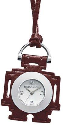 BCBGeneration (ビーシービージェネレーション) - BCBGenerationレディースgl4166ファッションロボットPedantアナログレッドレザー腕時計