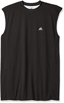Russell Athletic Men's Big and Tall Dri-Power Contrast Back Muscle